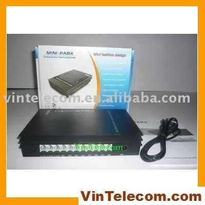 SOHO PBX / Small PABX -for small businss solution-fast free Shipping