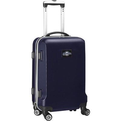 Milwaukee Brewers 20In 8-Wheel Hardcase Spinner Carry-On - Navy
