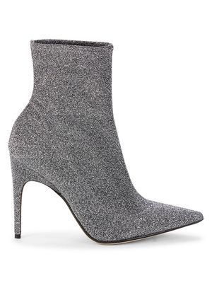 Sergio Rossi Point-Toe Ankle Heeled Booties