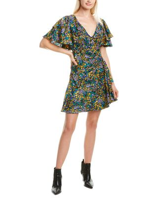 Tanya Taylor Demi Silk Mini Dress