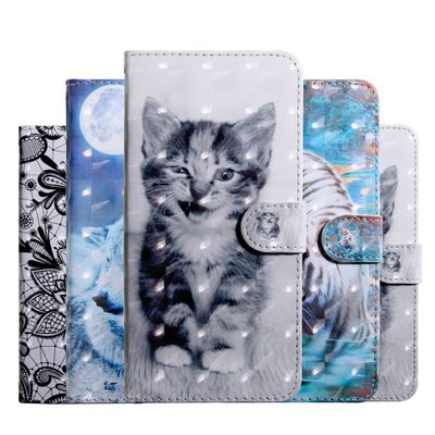 Shockproof Case for Huawei P40 Lite Y5 2018 Y6 Prime Y7 PRO Y5P Y6P Y8P Leather Phone Bag Honor 7A 7C 8X Cover Y9 Prime 2019 P40