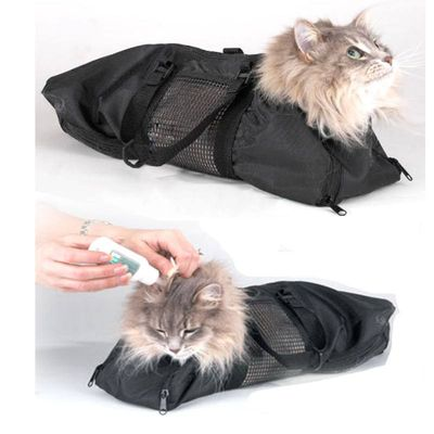 Multi-functional Cat Grooming Bag Restraint Bag Cats Nail Clipping Cleaning Grooming Bags Pet Supply Cat Carriers Hot