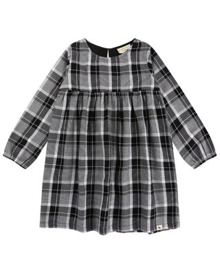 Turtledove Check Woven Dress