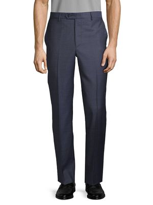 Saks Fifth Avenue Made in Italy Pindot Wool Pants