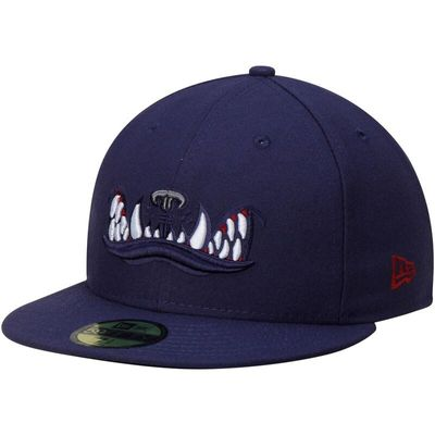 Mahoning Valley Scrappers New Era Authentic Home 59FIFTY Fitted Hat - Navy