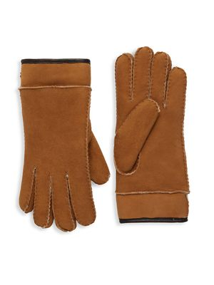 UGG Shearling-Lined Sheepskin Gloves