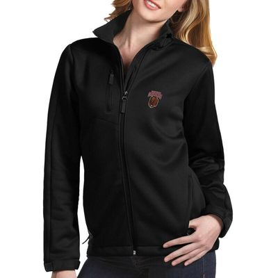 Montana Grizzlies Antigua Women's Traverse Full-Zip Jacket - Black