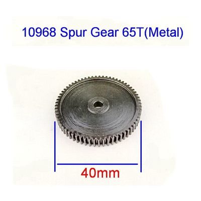 Upgrade Parts 10968 Spur Gear 65T(Metal) for VRX Racing 1/10 scale 4WD Electric rc car parts,fit rc buggy/truggy RH1013 RH1017