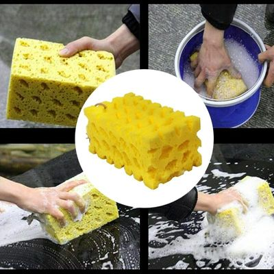 Extra Large Car Washing Sponge Coral Sponge Washing Cleaning Easy Grip To Wash Car Auto Bike Motorcycle boat And Home Upholstery