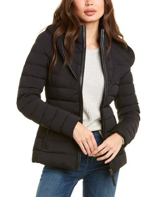 Mackage Andrea Leather-Trim Down Jacket