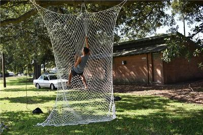 Corrosion resistant wear resistant climbing net Outdoor sports Protective safety net Rope Climb a wall F360
