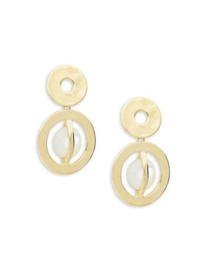 Ippolita Senso 18K Yellow Gold & Mother of Pearl Drop Earrings