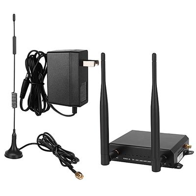 4G Support Card Wireless WiFi Router With 4G High Gain Antenna GPS Antenna US 110-240V ,External 4 Independent 4G/3G+WiFi Antenna, With Wired Broadband Interface