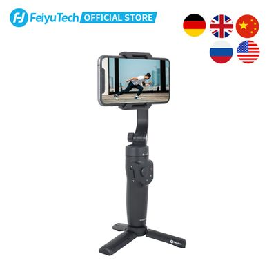 FeiyuTech Vlog Pocket 2 MINI Handheld Smartphone Gimbal Stabilizer selfie stick for iPhone 11 XS XR  iphone 8 7, HUAWEI P30 pro