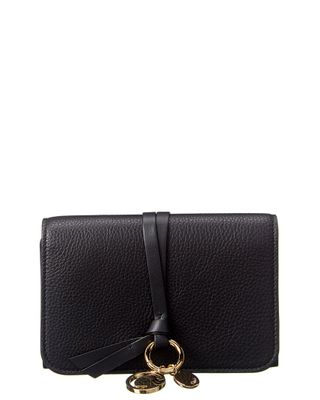 Chloe Alphabet Leather French Wallet