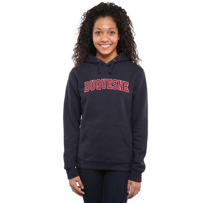 Duquesne Dukes Women's Everyday Pullover Hoodie - Navy