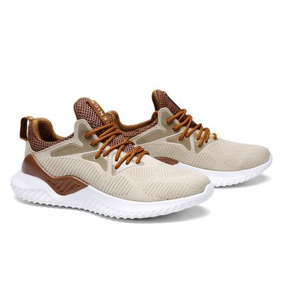 Men Running Shoes Lightweight Non-Slip Sneakers Breathable Mesh Sport Shoes Best Sale-WT