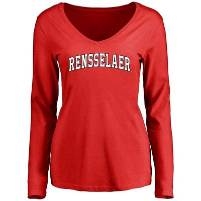 Rensselaer Polytechnic Institute Engineers Women's Everyday Long Sleeve T-Shirt - Red