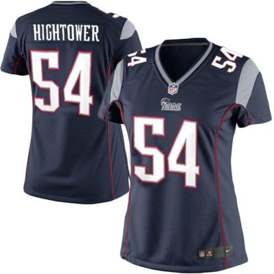 Dont'a Hightower New England Patriots Nike Women's Limited Jersey - Navy Blue