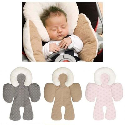 Baby Stroller Cushion Car Seat Pillow Accessories Head Body Support Mats Shoulder-sided Protective Cover Neck Protection Pad