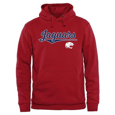 South Alabama Jaguars American Classic Pullover Hoodie - Red
