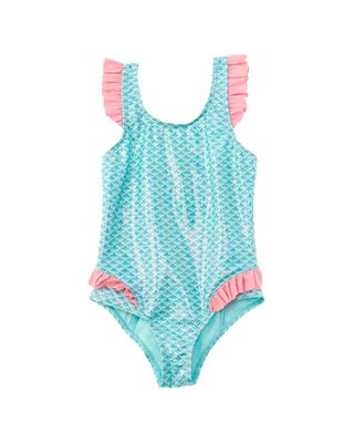 Sweet Pineapple Ruffle One-Piece
