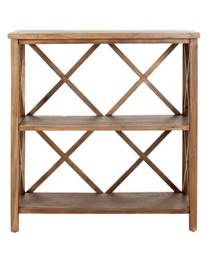 Safavieh Liam Elm Wood Open Bookcase