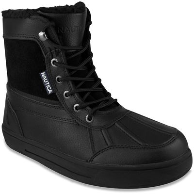 Nautica Lockview Lace-up Boots - Black