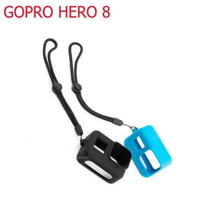 Soft Silicone Body Case For Gopro Hero 8 black Case Silicone Protective Full Cover Shell For Gopro 8 Action Camera Accessories