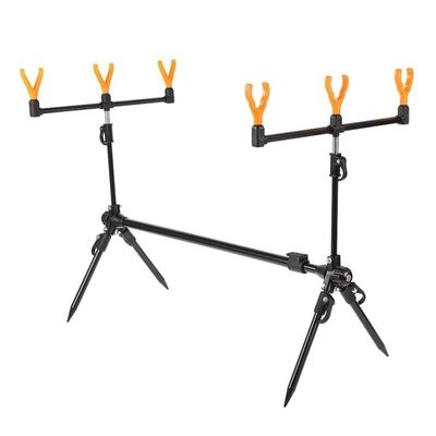 Adjustable Retractable Carp Fishing Rod Pod Stand Holder Fishing Pole Pod Stand Fishing Tackle Fishing Accessory