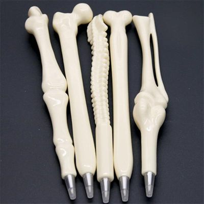 Five sets of human.skeleton pens as decorative gifts Individual pen Human skeleton anatomy teaching toy YSK027
