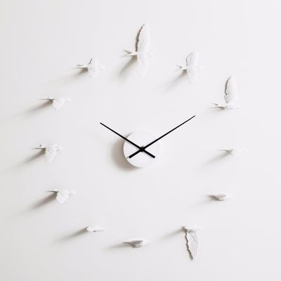 2019 New Swallow handcraft Clock modern design wall clock  high quality home decoration product  the best move gift