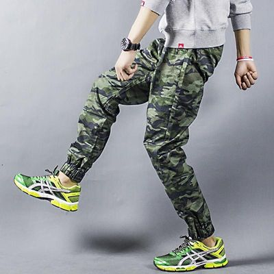 Comfortable Skateboard Pants Elastic Loose Joggers Pants Running Tennis Outdoor Sports Trousers for Men Skateboarding