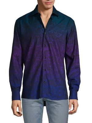 Bertigo Ombre Long-Sleeve Shirt