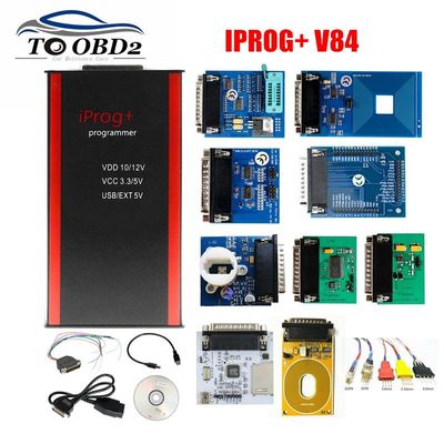 2020 V84 IPROG+ IProg i Prog 84 Programmer with CAN BUS/K-LINE/MB IR/RFID/PCF79XX Supports IMMO/Mileage Correction/Airbag Reset