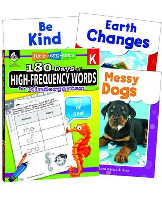 Learn-At-Home: High-Frequency Words Bundle Grade K
