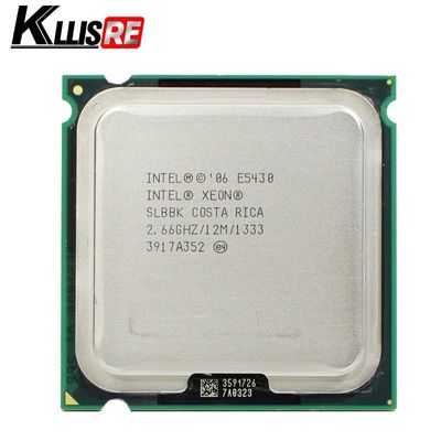 used INTEL XEON E5430 2.66GHz 12M 1333Mhz CPU Processor Works on LGA775 motherboard