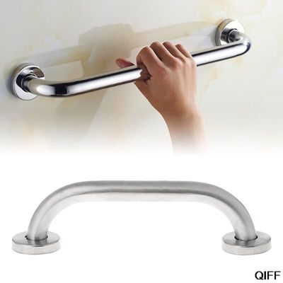 Drop Ship&Wholesale Stainless Steel Bathroom Shower Support Wall Grab Bar Safety Handle Towels Rail 20cm Aug. 8
