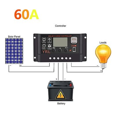 Newest Solar Charge Controller Waterproof LCD Street Light For YRL Y66 Anti-thunder Protection