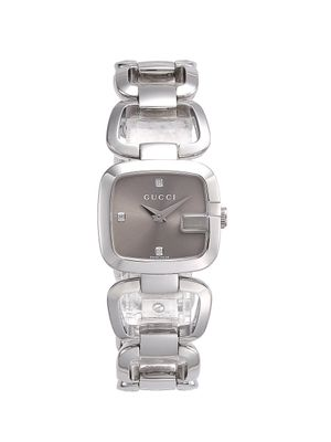 Gucci Stainless Steel Square Bracelet Watch