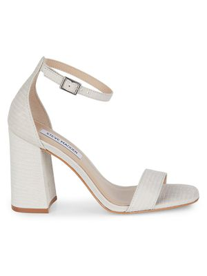 Steve Madden Dillion Leather Block Heel Sandals