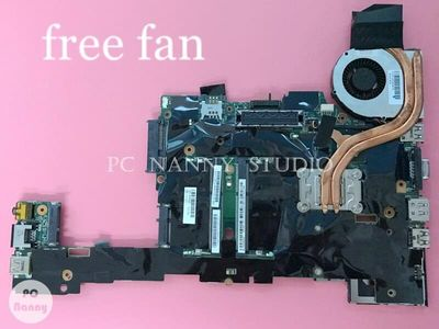PCNANNY 04W0668 for Lenovo ThinkPad X220T Tablet Laptop Motherboard Mainboard i7-2640M 2.80GHz HD Graphics 3000