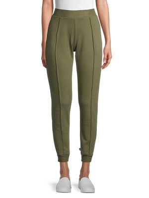 Terez Pintuck Cotton Jogger Pants