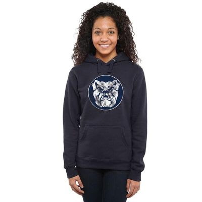 Butler Bulldogs Women's Classic Primary Pullover Hoodie - Navy