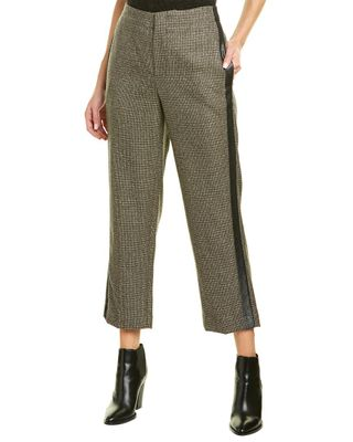 Brunello Cucinelli Side Stripe Wool Pant