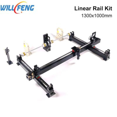 Will Feng 1300x1000mm DIY Metal Mechanical Components Hg15 Linear Rail Kit Assemble 1310 Co2 Laser Cutter Engraving Machine