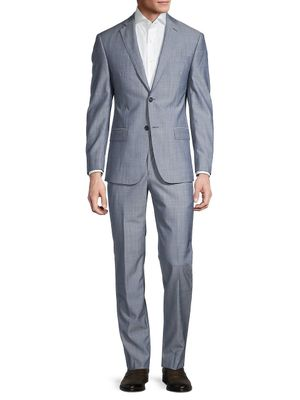 Michael Kors Neat Check Wool Suit