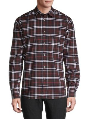 Burberry Simpson Plaid Shirt