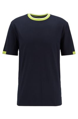HUGO BOSS - Extra Slim Fit Cotton Shirt With Contrast Details