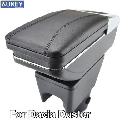 Armrest For Renault Dacia Duster I 2010-2015 Arm Rest Rotatable Storage Box Decoration Car Styling 2011 2012
